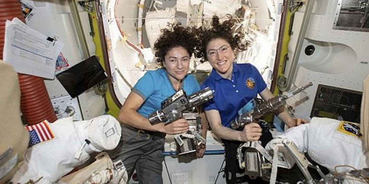 Jewish astronaut part of historic first ever all-female spacewalk