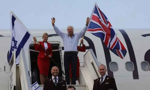 "Sir Richard Branson: Israel is a country of ""great entrepreneurs doing incredible things"""