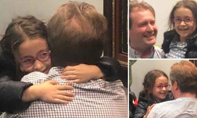 Nazanin Zaghari-Ratcliffe's daughter arrives back in the UK after more than three years