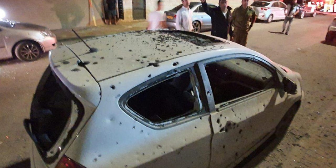 Israeli home hit by Palestinian rocket fire; car destroyed as thousands of Israelis take cover on Shabbat