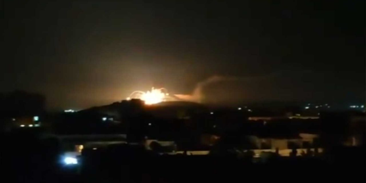 """Israel strikes """"dozens"""" of targets in Syria over rockets fired by Iranian force"""