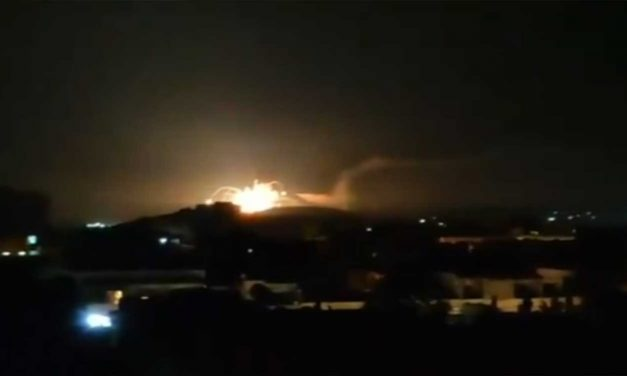 "Israel strikes ""dozens"" of targets in Syria over rockets fired by Iranian force"