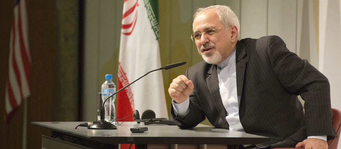 """Iran's FM hails Gaza """"victory"""" in latest fight with Israel, affirms Iran's support for Palestinian terror"""