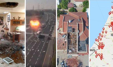 Gaza terrorists fire over 150 rockets into Israel after IDF kills terrorist commander