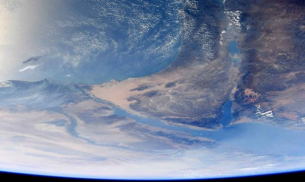 Jewish astronaut takes incredible pictures of Israel from space