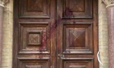 Red liquid thrown at Brighton synagogue on eve of Kristallnacht anniversary