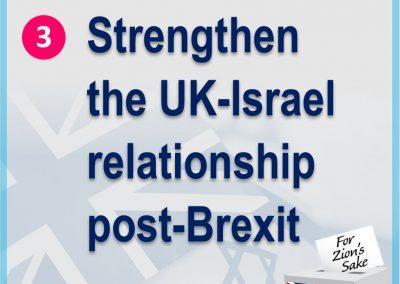 Strengthen relationship post brexit