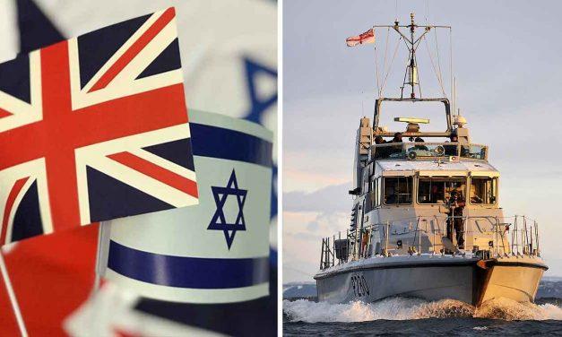 Royal Navy and Israel Navy train together for medical emergencies at sea