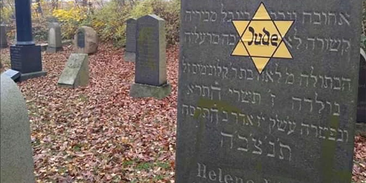 On Kristallnacht anniversary, yellow stars placed at Jewish sites in Sweden and Denmark