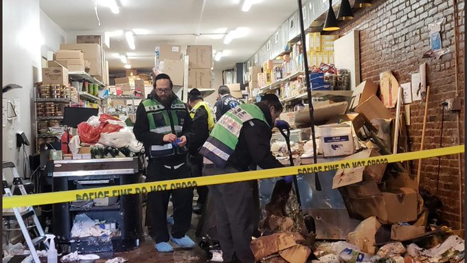 "Kosher store was ""deliberately targeted"" by gunmen; Three Jewish civilians and police officer killed"