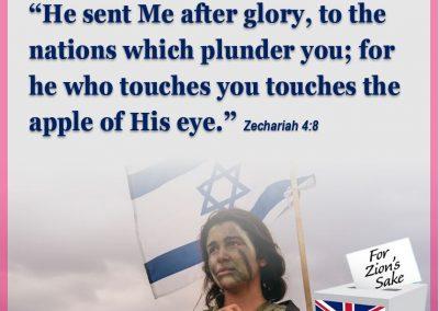 Apple of God eye