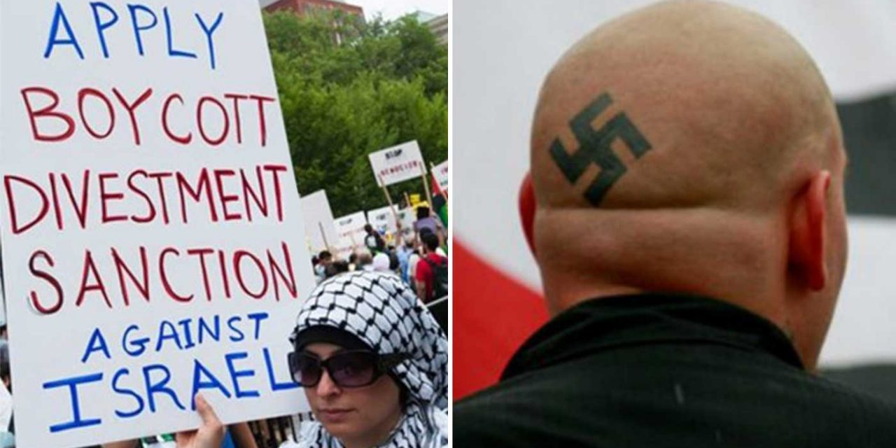"""Report shows anti-Semitism of BDS has """"unprecedented similarities"""" with far-right racism"""