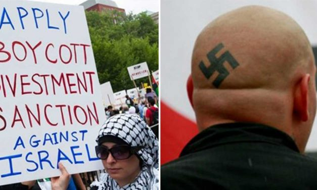 "Report shows anti-Semitism of BDS has ""unprecedented similarities"" with far-right racism"