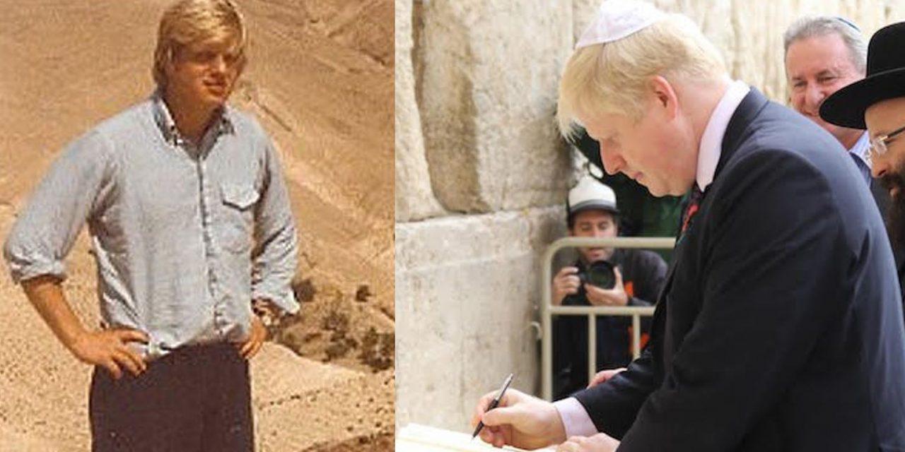 Will Boris back Israel?