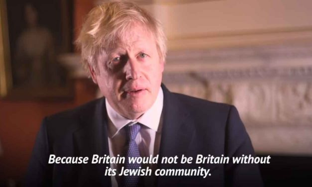 "Boris Johnson delivers Hanukkah message: ""Britain would not be Britain without its Jews"""