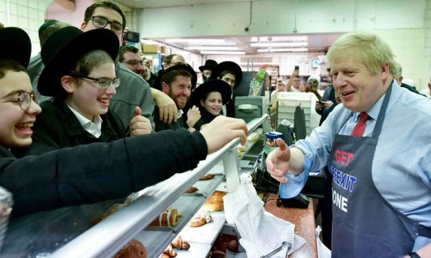 "Boris: ""Britain's Jews will always have my support and that of the Government I lead"""