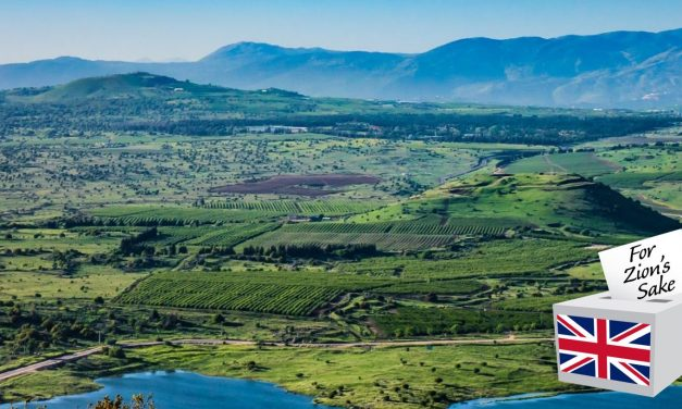 Britain should affirm Israel's sovereignty over the Golan Heights