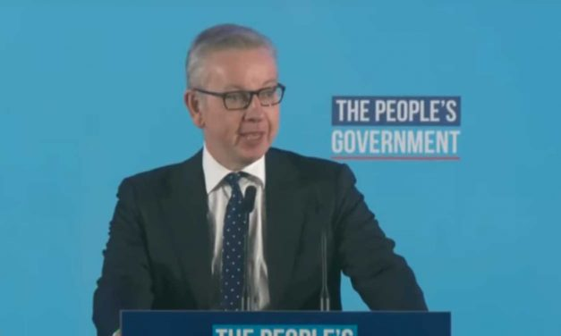 "After Corbyn defeated, Gove tells British Jews: ""You should never have to live in fear again"""