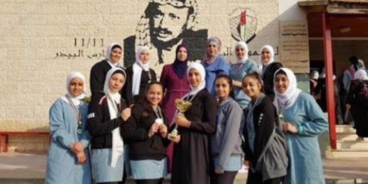 Plaque of teenage suicide bomber unveiled at Palestinian girls' school in Bethlehem