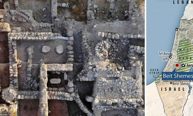 Stone slab unearthed near Jerusalem suggests connection to Ark of the Covenant