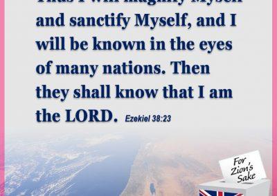 Thus I will magnify
