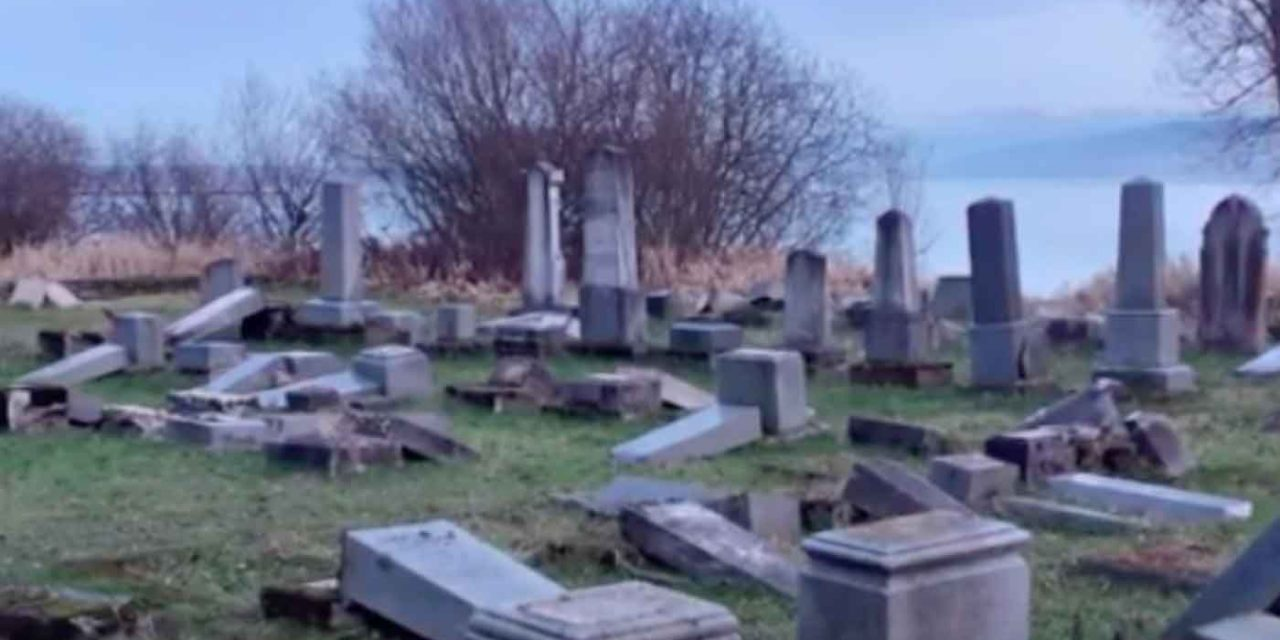 Nearly 60 graves vandalised at Jewish cemetery in Slovakia