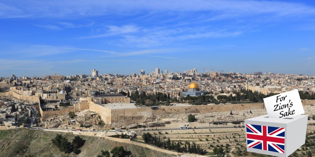 Britain must recognise Jerusalem as Israel's capital