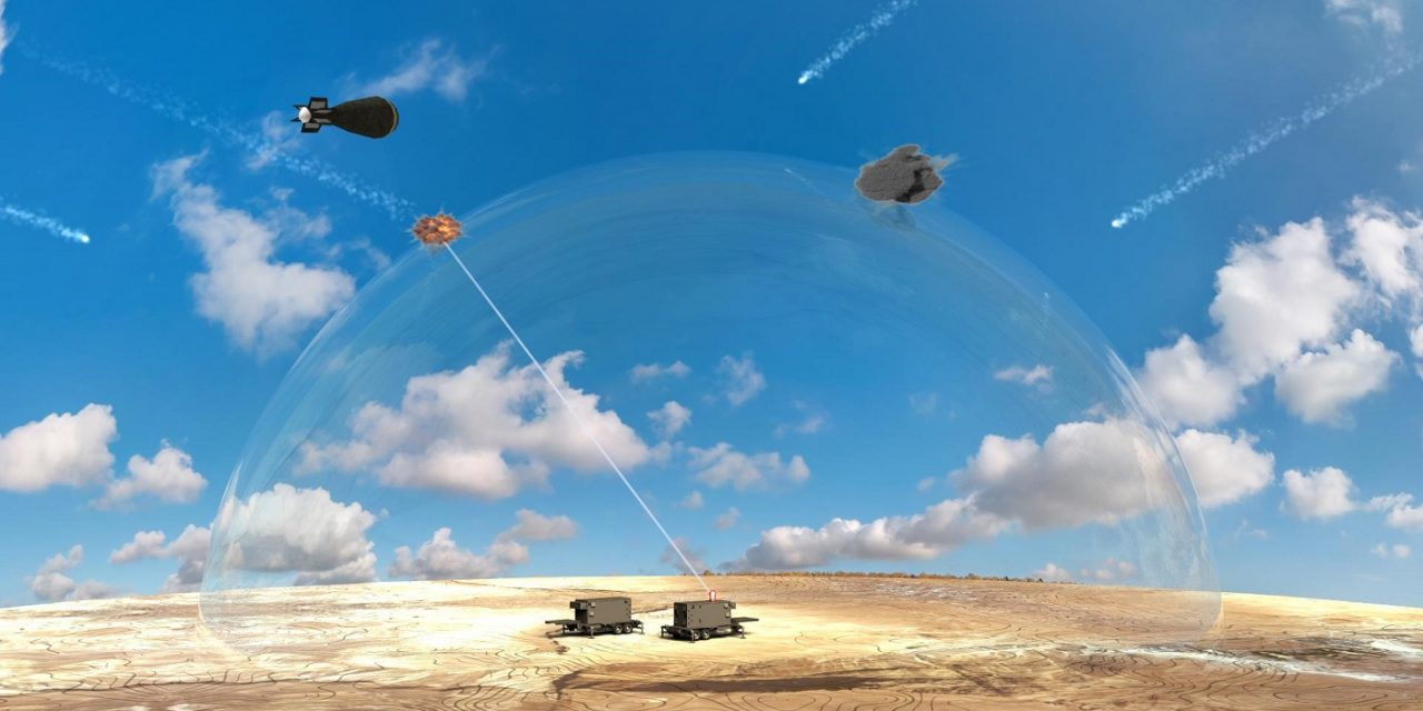 "Israel unveils ""breakthrough"" anti-missile laser system"