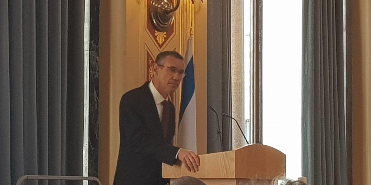 Amb. Regev warns those who profess solidarity with Jews, but deny Jewish homeland