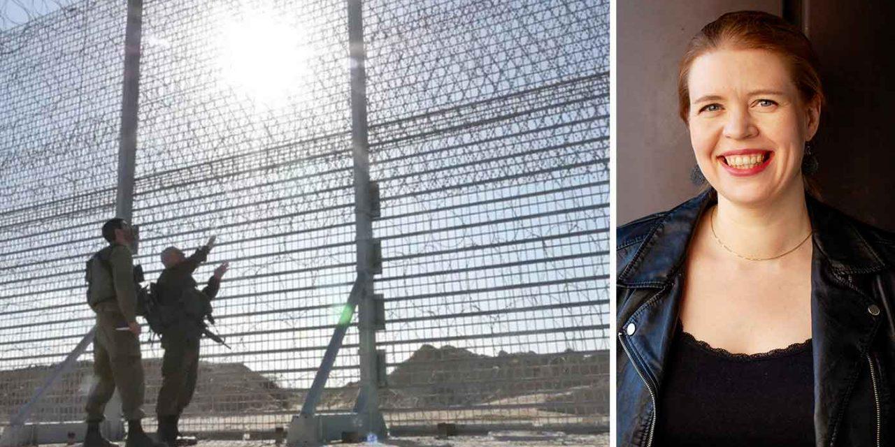 Finnish MP arrested trying to cut through Israel-Gaza border fence in anti-Israel stunt