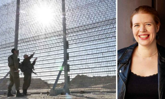 Finnish MP arrested trying to cut through Israel-Gaza border fence in anti-Israel stunt