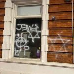 Anti-Semitic graffiti daubed on buildings in London ahead of Holocaust Memorial Day