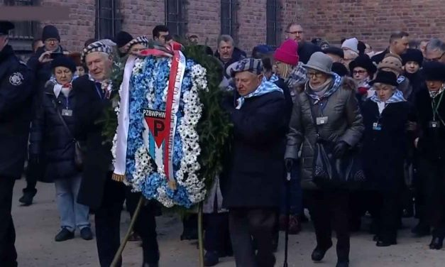 200 Holocaust survivors return to Auschwitz to mark 75 years since liberation