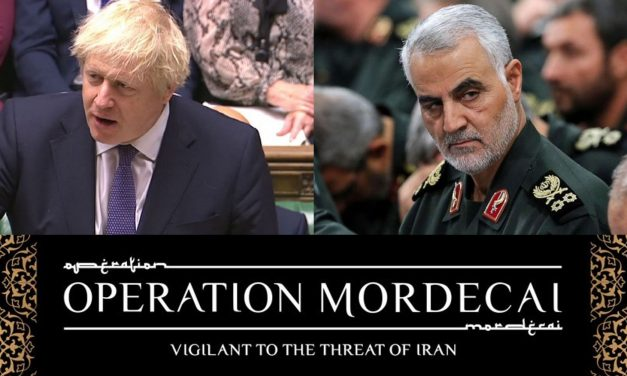 "CUFI welcomes Boris Johnson's ""clear and necessary denunciation"" of the Iranian regime in statement about Soleimani killing"