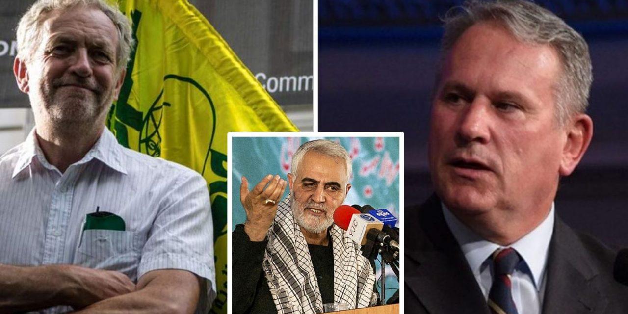 "Kemp slams Corbyn: ""You were paid by the same terrorist regime that paid Soleimani"""