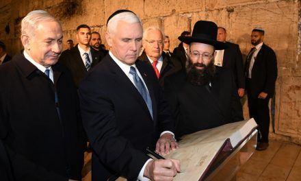 Pence: Christians are called to bless Israel
