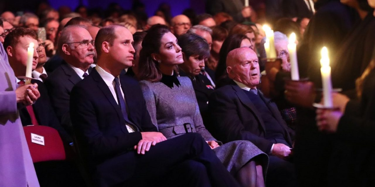 Prince William pays tribute to grandmother, Princess Alice, who saved Jews during war