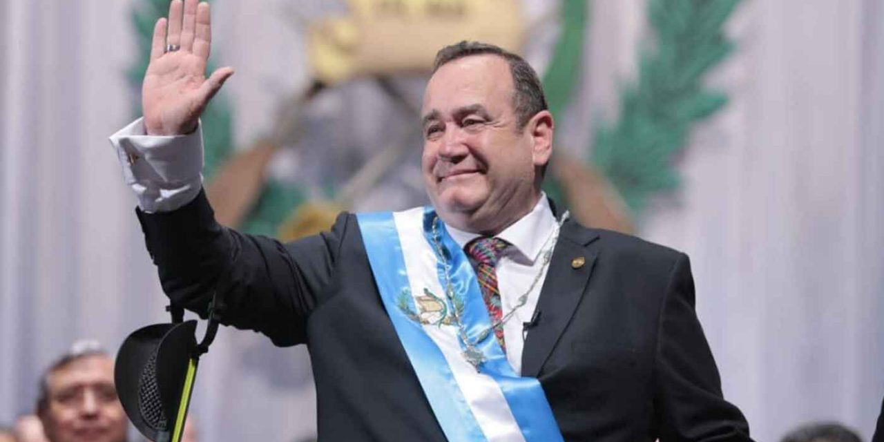 New Guatemalan President: We will keep embassy in Jerusalem and declare Hezbollah a terrorist organisation