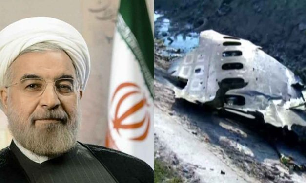 Iran's President refers to Lockerbie bombing in veiled threat hours before Iranian plane crash