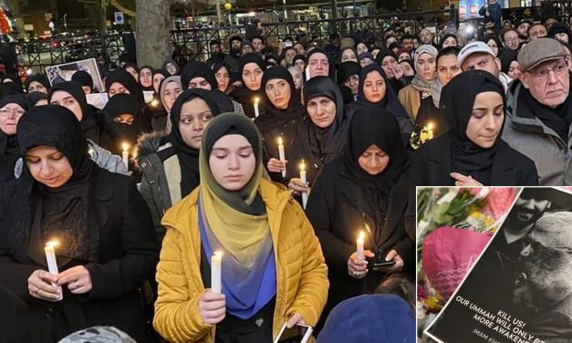 London: Hundreds hold vigil for killed Iranian terrorist general