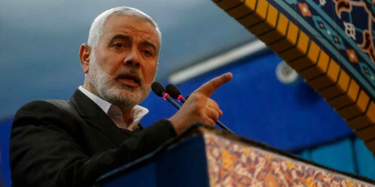 """Hamas leader at Soleimani funeral says he was """"martyr of Jerusalem"""" who gave """"power"""" to Hamas for """"resistance"""""""