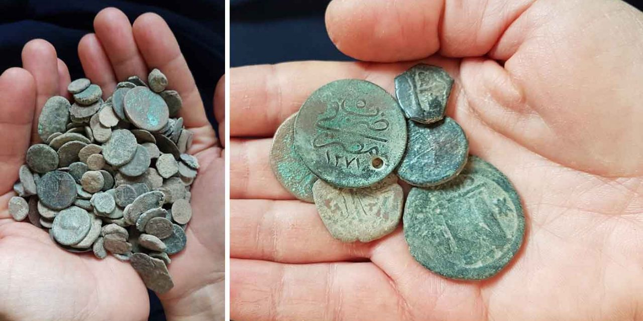 Israeli authorities find 232 ancient coins in thief's home