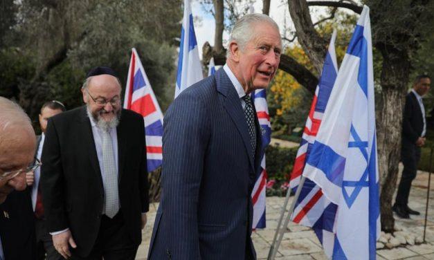 "Prince Charles: ""Israeli genius is maintaining the NHS"""