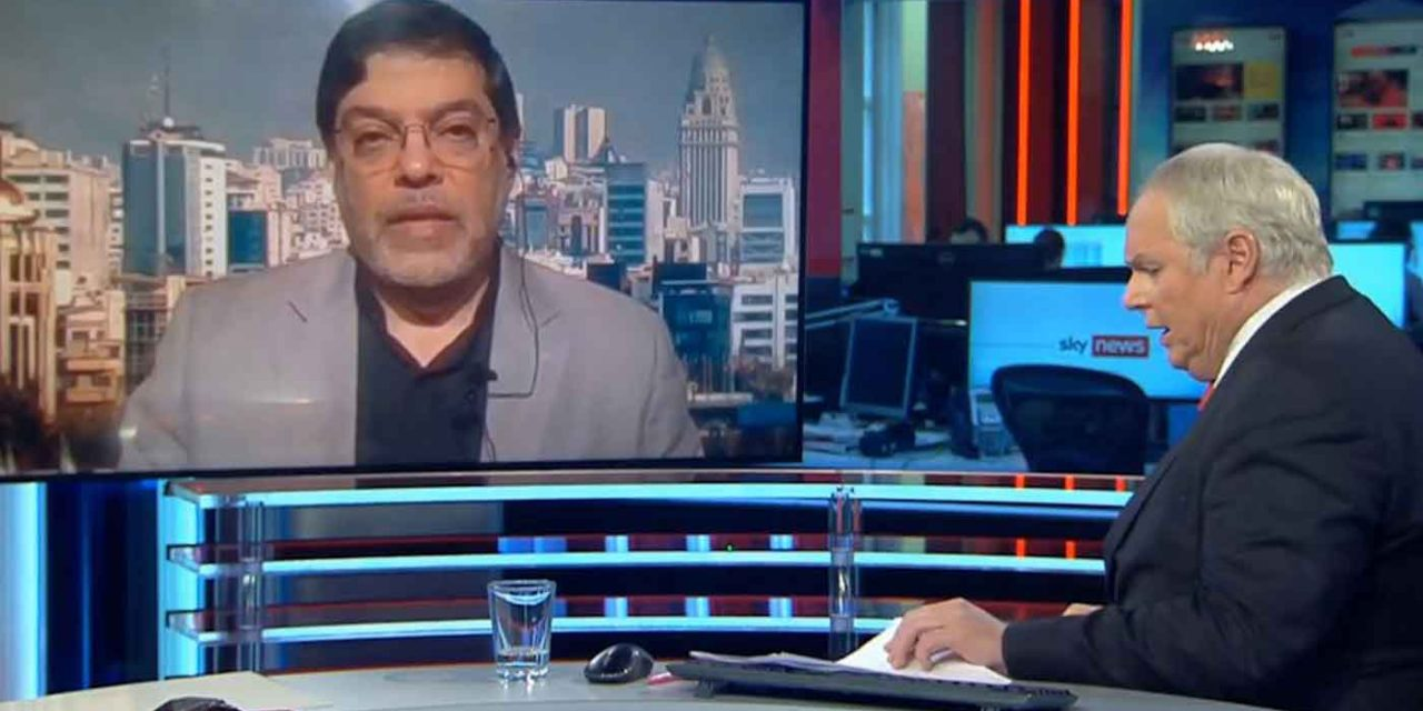 Sky News lets Iranian professor spread anti-Semitic lies about Israel without challenge