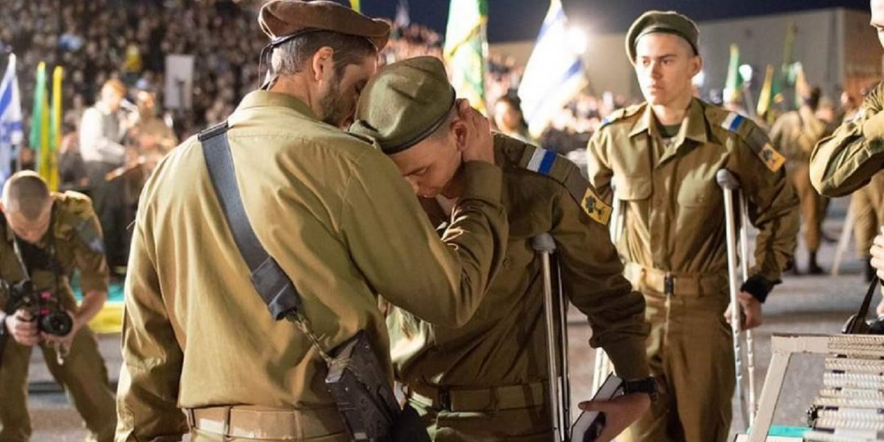 """Nothing will stop us"" – IDF soldiers injured in car-ramming still attend their swearing-in ceremony later in the day"