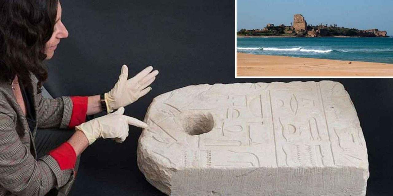 Israeli swimmer finds ancient 3,400-year-old ornate anchor off coast