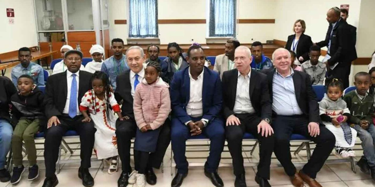 Israel welcomes dozens of Ethiopian's making aliyah