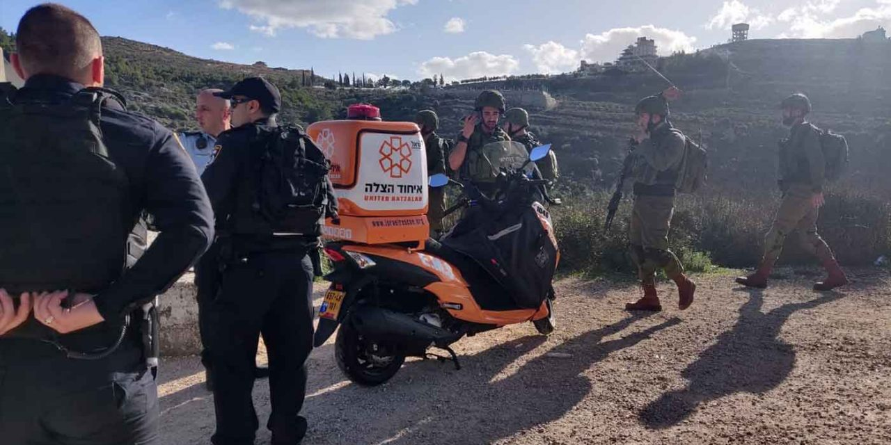 Two Palestinian shooting attacks: Israeli policeman shot near Temple Mount; IDF soldier shot in West Bank
