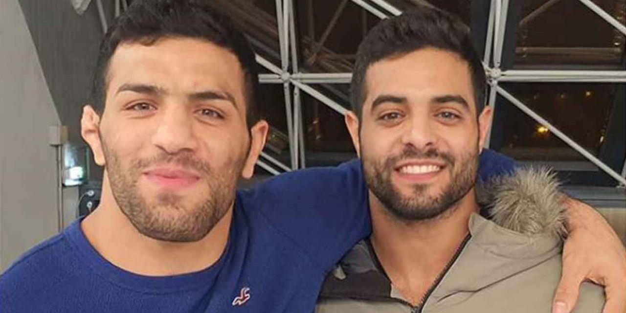 Israeli and Iranian judo champions embrace in display of peace