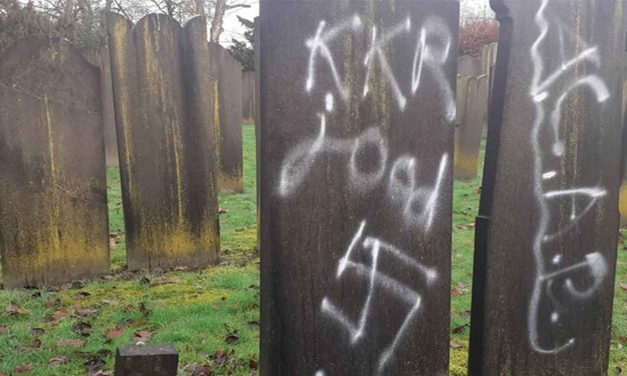 The Netherlands: Swastikas, anti-Semitic slogans painted on headstones at Jewish cemetery